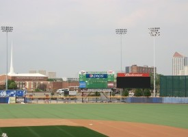 Lawrence Dumont Stadium Relighting, Wichita, KS